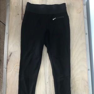 Zara black stretch pant
